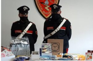 Sequestrati oltre 2700 articoli pericolosi, molti i giocattoli per bambini