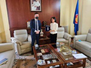 Internazionalizzazione, Rossi (CCIAA) ha incontrato l'ambasciatrice vietnamita in Italia