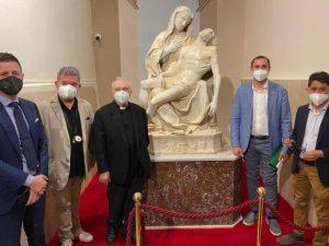 [VIDEO] Il presidente Spirlì a Soverato per il quinto centenario della Pietà di Antonello Gagini