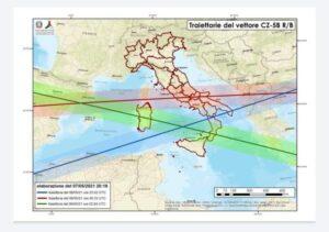 Rientro lanciatore spaziale cinese: escluso interessamento territorio italiano