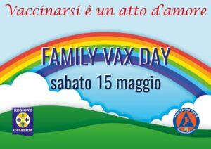 Family Vax Day, sabato 15 maggio in Calabria implementazioni di alcuni centri vaccinali