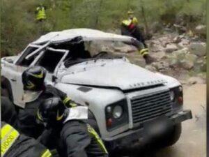 Minivan precipita in una scarpata, 6 operai e tecnici feriti. Due sono calabresi