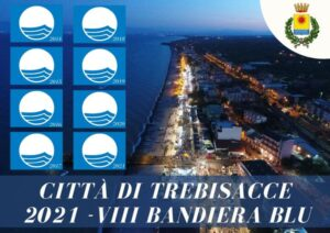La città di Trebisacce conquista per l'ottava volta consecutiva la Bandiera Blu