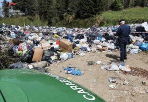 Sequestrato il centro comunale di raccolta rifiuti a Simbario