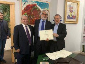"""""""Renato Dulbecco Institute"""", Mostaccioli chiamato dai professori Crea e Nisticò"""