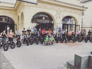 Bike Tour, successo per la visita guidata in bicicletta per le vie di Catanzaro