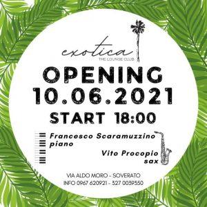 """""""Exotica"""": inaugurazione del nuovo Lounge Club di Soverato"""