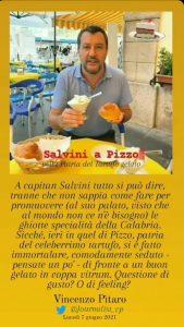 Salvini nella Patria del Tartufo