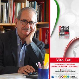 Domani Vito Teti e Luca Calvetta per la chiusura del Magna Graecia School in the city a Soverato