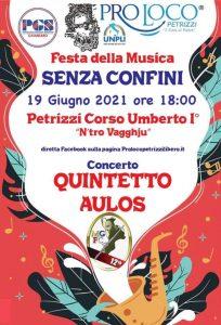 """Petrizzi, sabato 19 giugno va in scena la """"Festa della musica senza confini"""""""