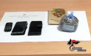 La marijuana nascosta nella busta del pane, 63enne arrestato