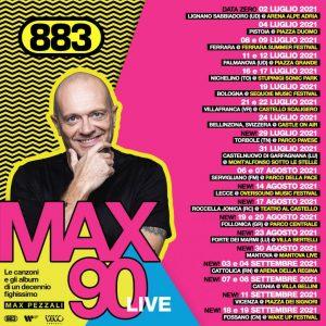 Roccella Summer Festival, il 17 agosto ci sarà il concerto di Max Pezzali