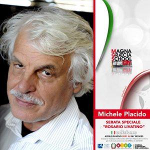 A Soverato Michele Placido ospite dell'evento dedicato a Rosario Livatino