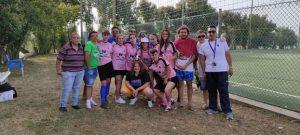 Le ragazze del Nausicaa di S. Andrea Jonio alla finale regionale PGS