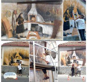"""""""U Cocipana"""" è il nuovo murale realizzato a Montepaone Centro"""