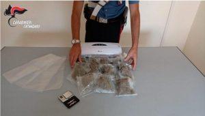Possesso di droga, 40enne di Amaroni arrestato