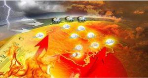 Torna l'Anticiclone Sub-Tropicale con temperature di nuovo roventi in tutta la Calabria