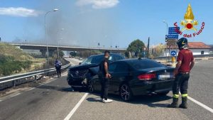 Incidente stradale a Squillace, due feriti