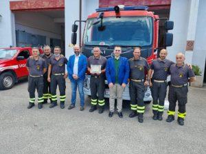 "Conferimento premio  ""O NOSTOS"" 2021 a VC Antonino Modaffari"