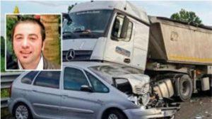 Terribile impatto sull'A21, muore autotrasportatore catanzarese