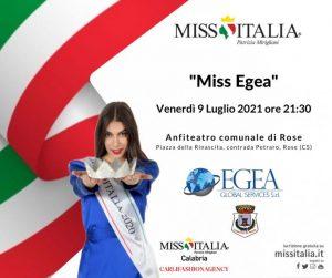 Miss Italia Calabria continua… il 9 luglio a Rose con l'elezione di Miss Egea