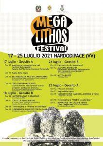 Megalithos Festival – Si parte il 17 luglio alle 12. Alle 13 Sagra della Capra e a seguire due spettacoli