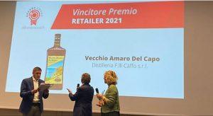 Il Vecchio Amaro del Capo conquista il primo posto al Brands award