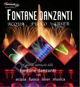 A Soverato il grande spettacolo delle fontane danzanti, unica tappa per il Sud Italia