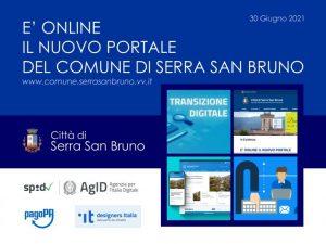 È attivo il nuovo sito istituzionale del Comune di Serra San Bruno