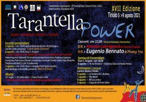 """Dal 5 al 9 agosto a Tiriolo la VII edizione del """"Tarantella Power"""""""