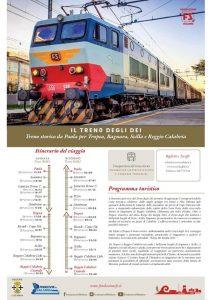 Parte il Treno degli Dei: una nuova opportunità di turismo ferroviario per la Calabria