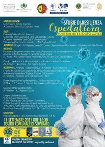 """A Soverato iniziativa del Lions Club Catanzaro Host su """"Storie di resilienza ospedaliera – Anno secondo d.c (dopo covid)"""""""