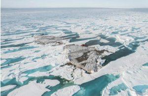 Gli scienziati scoprono un isolotto senza precedenti nell'estremo nord del pianeta