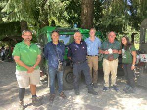 Dottori Forestali e proprietari boschivi tedeschi ed austriaci in visita nel Parco Nazionale della Sila