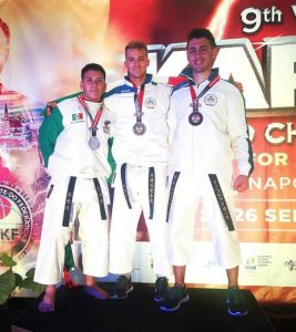 Il 18enne Christian Lanciano di Catanzaro è medaglia di bronzo ai campionati mondiali di Karate – Wukf in Romania
