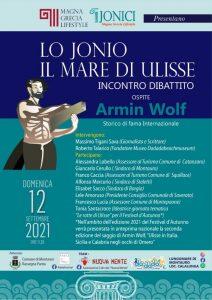 """Domenica 12 settembre a Montauro l'incontro-dibattito """"Lo Jonio, il mare di Ulisse"""""""