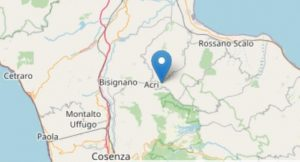Terremoto in Calabria, scossa avvertita da cittadini