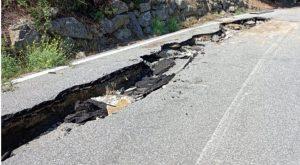 "Chiusa a Squillace la strada provinciale 53 ""Madonna del Ponte"""