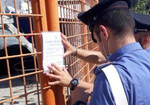 I Carabinieri sequestrano un cantiere navale a Catanzaro, 59enne denunciato