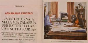 Annamaria Frustaci, la pm di S. Andrea Jonio tornata in Calabria «per sconfiggere i clan»