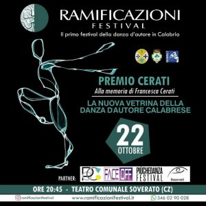 Ramificazioni, gran finale con il Premio Cerati al Teatro Comunale di Soverato