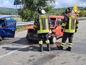Scontro tra due auto nel catanzarese, 2 feriti trasportati in elisoccorso