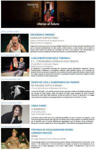 Riparte la stagione al Teatro del Grillo di Soverato ricca di novità e grandi interpreti