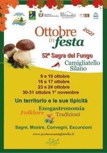 Al via la Sagra del Fungo, l'Ente Parco Sila supporta l'evento